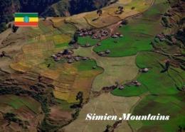 Ethiopia Simien Mountains Aerial View UNESCO New Postcard Äthiopien AK - Äthiopien