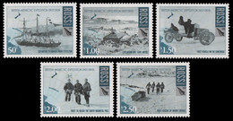 Ross-Gebiet 2008 - Mi-Nr. 109-113 ** - MNH - E. Shackleton - Nuovi