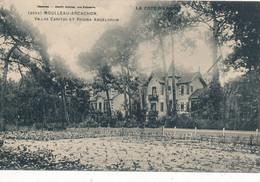 Moulleau Arcachon (33 Gironde) Villas Caritas Et Regina Angelorium - édit. Guillier N° 6994 Série La Côte D'Argent - Arcachon