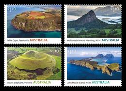 Australia 2021 Mih. 5320/23 Australia's Volcanic Past MNH ** - Nuevos