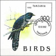Tanzania 1992 - Mi BL 190 -  YT BF 181 ( Bird : Common Cuckoo ) - Cuckoos & Turacos