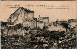 6EA 816 CPA - CLERMONT EN ARGONNE - APRES LE BOMBARDEMENT - Clermont En Argonne