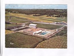 CPM DPT 32 NOGARO, VUE AERIENNE PARC DES SPORTS En 1975! - Nogaro
