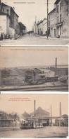 54 - Neuves-Maisons - Lot De 3 Cartes Animées - 1916 - Neuves Maisons