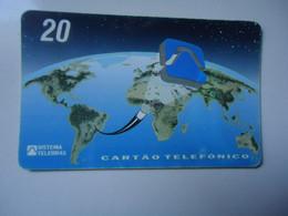 BRAZIL   USED CARDS    MAP - Peinture