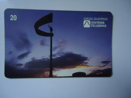 BRAZIL   USED CARDS   PLANET - Peinture