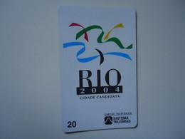 BRAZIL   USED CARDS   RIO 2004  FESTIVAL - Cultura