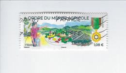 Ordre Du Mérite Agricole Oblitéré 2021 - Used Stamps