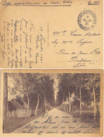 CORPS EXPEDITIONNAIRE DE HAUTE SILÉSIE TàD TRESOR ET POSTES 15-11-21 - Military Postmarks From 1900 (out Of Wars Periods)
