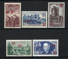 FRANCE 1941: Lot De Neufs(*) - Ongebruikt