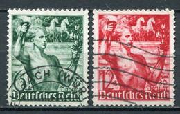 Deutsches Reich Nr.660/1         O  Used         (3722) - Gebraucht