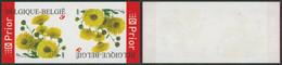 Non Dentelé (2005) - N°3432 Tête-bêche Fleurs (Chrysanthème) / A. Buzin - Ongetande