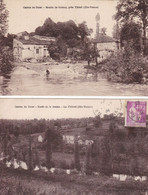 Cpa Dept 87 - Canton De Orat - Lot De 2 Cartes - Le Moulin De Guinay Et Le Pétrot (voir Scan Recto-verso) - Le Dorat