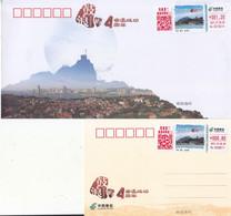 China 2021  Kulangsu, A Historic International Settlement  ATM Label Stamps Commemorative Cover(1v) And Card(1v) - Sobres