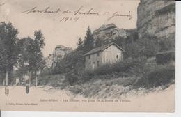 MEUSE -  SAINT MIHIEL - Les Roches, Vue Prise  De La Route De Verdun  ( - Timbre à Date De 1904 - Timbre Décollé ) - Saint Mihiel