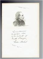 LOUISE MICHEL 1830 VRONCOURT LA COTE 1905 MARSEILLE INSTITUTRICE ANARCHISTE PORTRAIT AUTOGRAPHE BIOGRAPHIE ALBUM MARIANI - Historical Documents