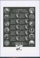 Feuillet En Noir Et Blanc - GCA16 Signe Du Zodiaque - Zwarte/witte Blaadjes