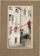 A Voir, En 1905-LALOUVESC (07)-rare Cliché Amateur-Hotel TESSIER Et Garage-lire Légende Photo Et Mes Explications - Lieux
