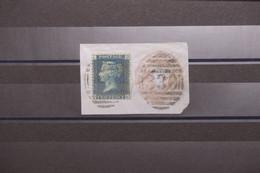 ROYAUME UNI - Type Victoria 2p Sur Fragment D'entier Postal - L 101159 - Used Stamps