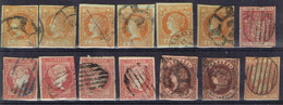 DO 17050 LOT SPANJE KLASSIEK GESTEMPELD  ZIE SCAN - Colecciones