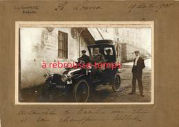 A Voir, En 1905-LALOUVESC (07)-cliché Amateur-belle Automobile - Luoghi