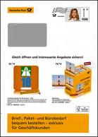 Plusbrief EAI B Dialogpost Zustellerin 58 Cent Leuchtturm Autobahnvignette '18 - Buste - Nuovi