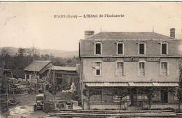 D46  BIARS  L'Hôtel De L'Industrie  Fregeac  .......... Carte Peu Courante - Bretenoux