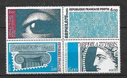 N°1834 à 1837 Arphila 1975  Neufs * * TB =MNH VF Voir Scan  Soldé Au Prix De La Poste En 1975 ! ! ! - Unused Stamps