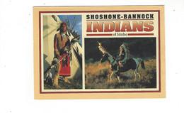 THEME INDIENS  SHOSHONE BANNOCK INDIANS  MULTIVUES        *******  RARE  A  SAISIR *** - Native Americans