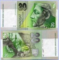 Slovakia 20 Korun 1999 P 20 D UNC - Slovacchia