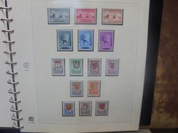 """START 1 EURO ! BELGIQUE 1940-1952 NEUVE** ALBUM"""" SAFE"""" PRESQUE COMPLET ! (3212) 3 KILOS - Collections"""