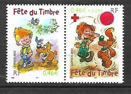 Paire N° 3467A      Boule Et Bill  Neufs * * TB =MNH VF Voir Scan  Soldé Au Prix De La Poste En 2002 ! ! ! - Unused Stamps