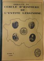 CHEL Lessines  - Annales Tome 1 - 1986 - Belgio