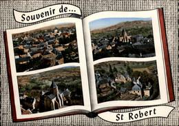 19 - SAINT-ROBERT - Vue Aérienne - Multi Vues Livre - Other Municipalities
