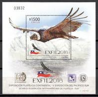 Chile 2018 / Birds MNH Aves Vögel Oiseaux Uccelli / Cu18634  40-7 - Unclassified