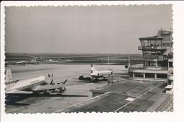 Carte LE BOURGET  Aéroport De Paris La Piste D'envol  ( Avion )  AEROPORT DU BOURGET ( Format C.P.A. ) - Le Bourget