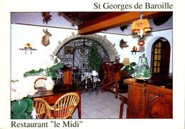 """Europe > France > [42] Loire > St-Georges De Baroille > Restaurant """" Le Midi """" / 108 - Otros Municipios"""