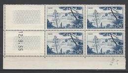 CD 1038  FRANCE 1955 COIN DATE 1038  : 12 9 55  SERIE TOURISTIQUE PORT DE NICE - 1950-1959