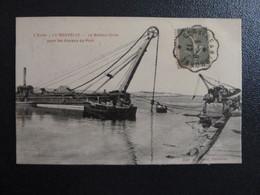 Z35 - 11 - La Nouvelle - Le Bateau-Grue Pour Les Travaux Du Port - Edition Prunot - 1917 - Port La Nouvelle
