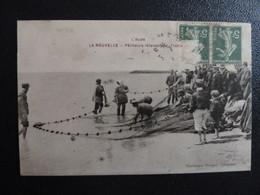 Z35 - 11 - La Nouvelle - Pêcheurs Relevant La Traine - Edition Prunot - Port La Nouvelle