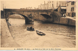 A/ 288         17        Marans           Le Pont Sur La Sévre Niortaise - Altri Comuni