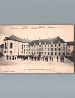 23 - Creuse - Ajain  - Cpa - Le Petit Séminaire - Côté Sud - Belle Animation - 1904 - Andere Gemeenten