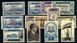 Siria (aéreos) Nº 12/24. Año 1946/48 - Syria