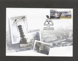 2021 Ukraine FDC Chernobyl. 35 Years Old. Revival. Fauna. Horse. Equus Ferus Przewalskii. Birds. Vinnytsia - Chevaux