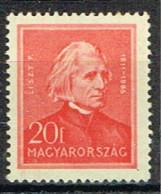 HG 137 - HONGRIE N° 455 Neuf** Franz Liszt - Ongebruikt