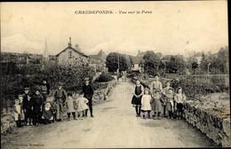 CPA Chaudefonds Maine Et Loire, Vue Sur Le Pont - Andere Gemeenten