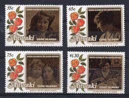 Aitutaki - 1985 - Life & Times Of Elizabeth, Queen Mother - MNH - Aitutaki