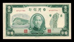 Taiwan 100 Yuan 1946 Pick 1939 AP SC- AUNC - Taiwan