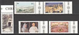XX924 1995 PALESTINE BETHLEHEM ARAFAT POPE ARCHITECTURE 1SET MNH - Autres