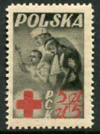 POLAND 1947  Red Cross Charity MNH / **.  Michel 471 - Nuovi